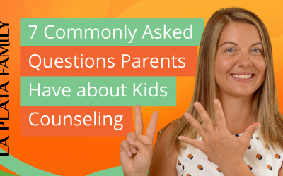 7 Commonly Asked Questions Parents Have About Kids Counseling